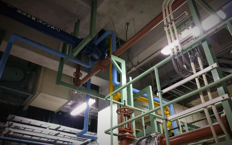 下水道処理施設管理業