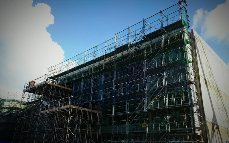 建築場事業
