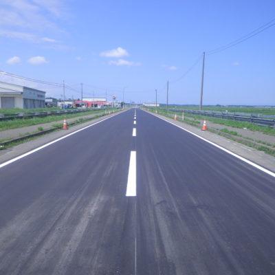 国道101号舗装補修工事